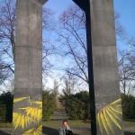 Das Tor von Erwin Heerich