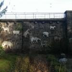 Kunst am Bahndamm